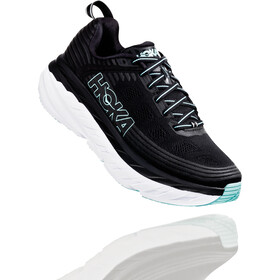 Hoka One One Bondi 6 Running Shoes Damen black/aqua sky